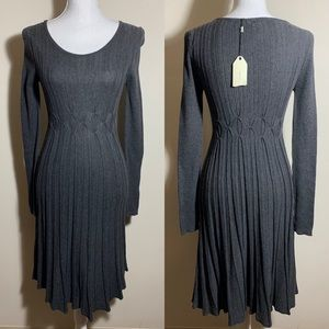 Sophie Max Fit & Flare Sweater Dress XS